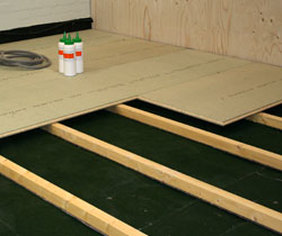 how to clean chipboard flooring